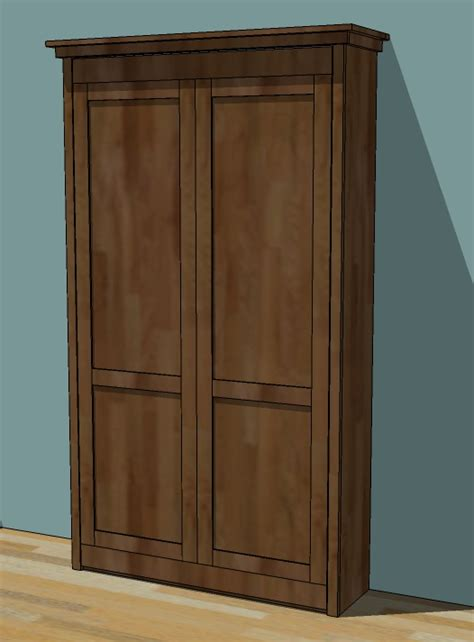 hide your television when not in use by building this tv lift build plans for a murphy bed diy cabinet plans for table