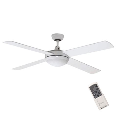 2 ceiling fan light remote white 52 quot