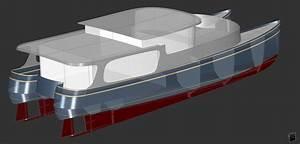 5039 Semi Planing Yacht WAVE CAT