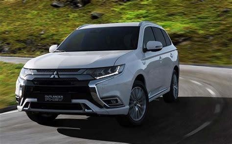2019 Mitsubishi Outlander Phev To Make Global Debut At