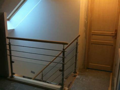 pose de l escalier construction de ma maison dans le