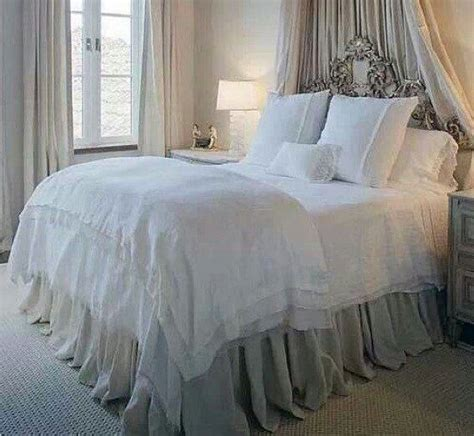 extra long gathered bed skirt queen  humblehomedesign  etsy  farmhouse remodel