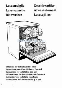 Smeg Dishwasher 3lbs931 Instructions For Installation And