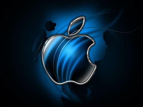 Blue Apple Wallpaper ~ Maybe Navy Blue