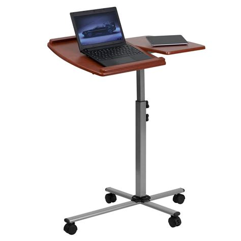 Laptop Desk For Recliner by Flash Furniture Nan Jn 2762 Gg Angle And Height Adjustable