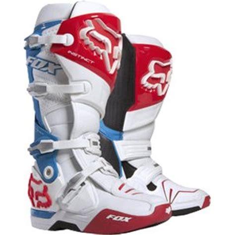 blue dirt bike boots amazon com fox racing instinct reed replica men 39 s off