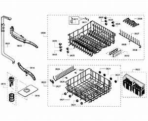 Bosch Shx6ap05uc  05 Dishwasher Parts