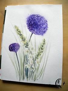 Aquarell Malen Blumen : pin blumen aquarell zeichnen on pinterest ~ Articles-book.com Haus und Dekorationen