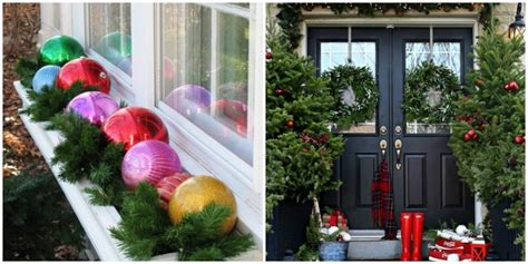 outdoor home christmas decorating ideas 25 best outdoor christmas decorations christmas yard decorating ideas