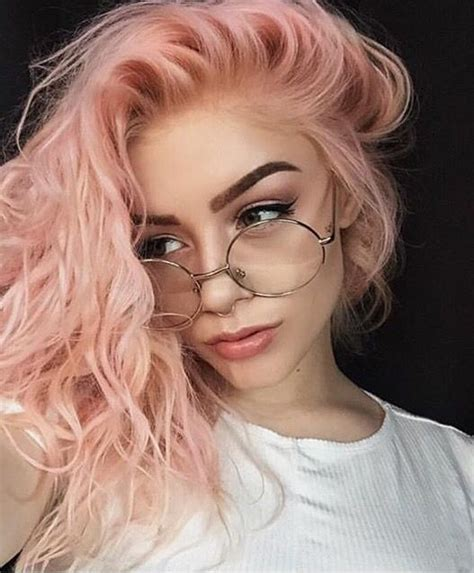 The 25 Best Pastel Pink Hair Ideas On Pinterest Rose