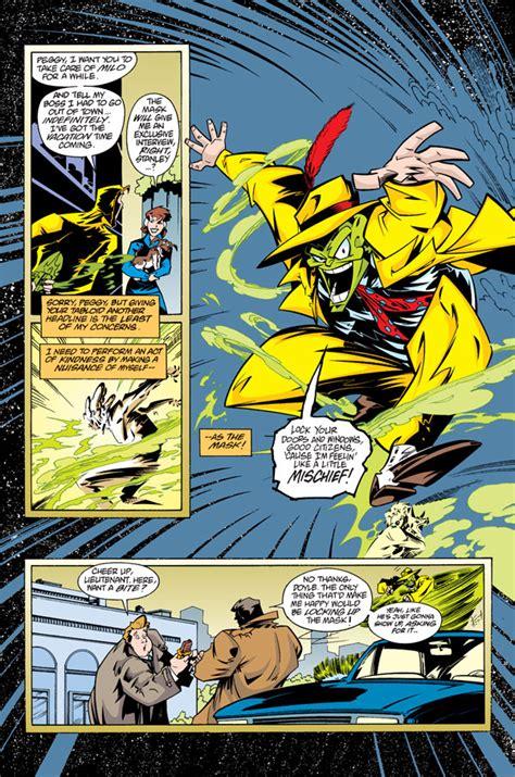 adventures   mask omnibus profile dark horse comics