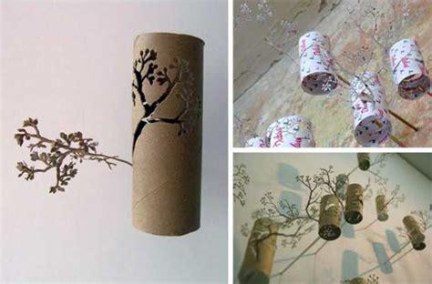 homemade toilet paper roll art ideas   wall decor