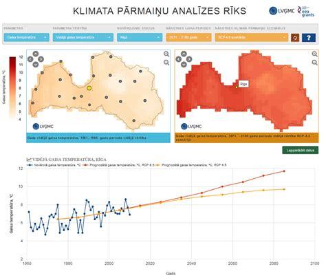 LVĢMC | LVĢMC izstrādājis nākotnes klimata pārmaiņu ...
