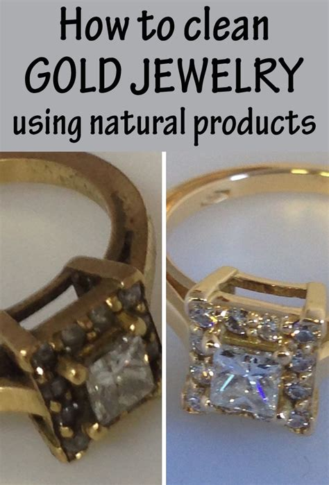 clean gold jewelry natural cleaning using solutions solution diy advertisements tips