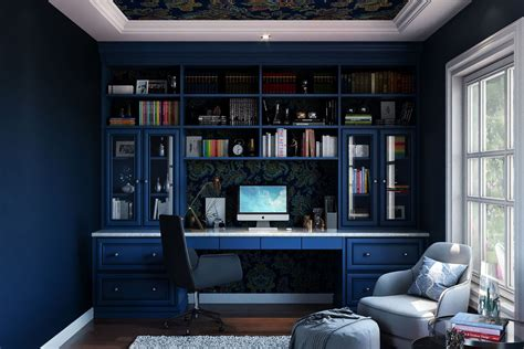 Custom Home Offices (With images) Closet factory Home