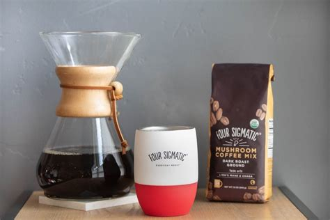 The new beverage offers the same morning brew taste coffee connoisseurs love, but blended with functional mushrooms. Four Sigmatic Ground Mushroom Coffee Review - A Look At This Coffee