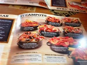 Steampots menu - Picture of Joes Crab Shack, Auburn Hills ...