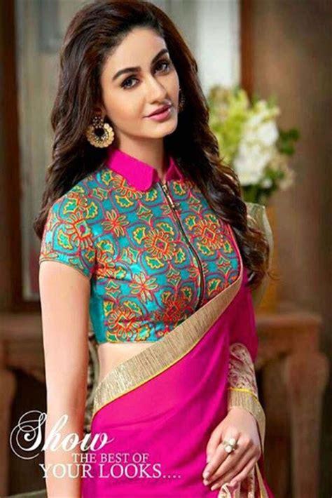 high neck blouse 30 high neck blouse designs for sarees