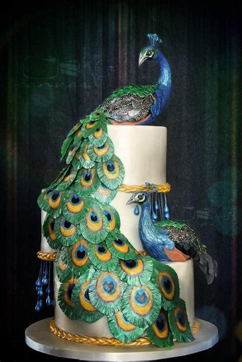 peacocks  cotillion cake cake  anna mathew vadayatt