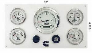 Cummins Engine Instrument Boat Panel Pre Wired Usa Made 853866006705