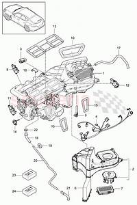Porsche Panamera  2010   Air Conditioner Parts