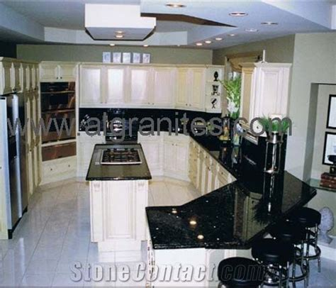 Black Galaxy Granite Countertop from China 59889