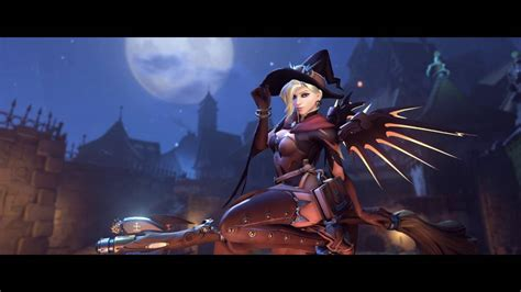Overwatch Wallpaper Animated - overwatch mercy costume animated wallpaper