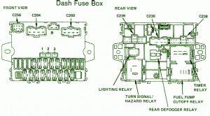 1988 Honda Accord Radio Wiring Diagram by Pgm Fi Relay Circuit Wiring Diagrams