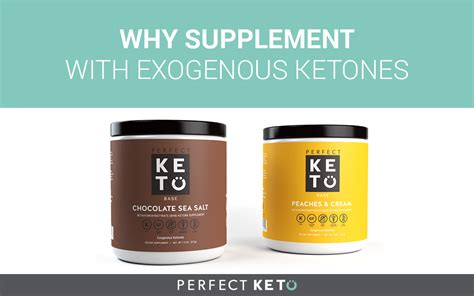Supplementing with Exogenous Ketones - Perfect Keto