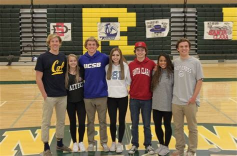 national letter of intent signing day srvhs senior athletes participate in national letter of