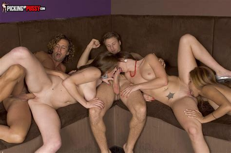 Tori Black And Her BFFs Screwed By Two Big Dick Of