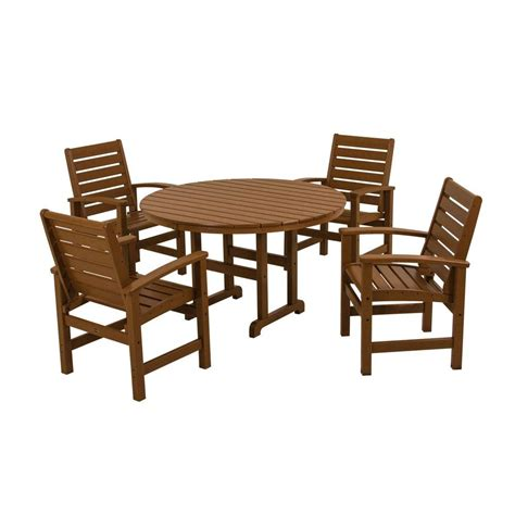 leisure accents taupe 3 patio bistro set laps t