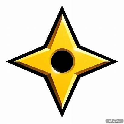Ninja Star Icon Megaman Gold Sf2 Promo