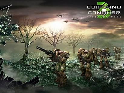 Gdi Conquer Command Tiberium Wars Soldiers War