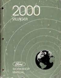 auto repair manual online 2000 mercury villager navigation system 2000 mercury villager factory service manual