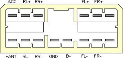 subaru car radio stereo audio wiring diagram autoradio connector wire installation schematic