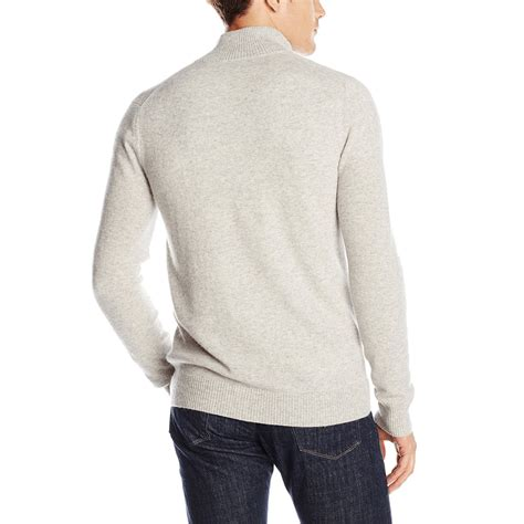 zip sweater mens 1 2 mock neck zip sweater for