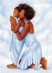 Mother and Daughter Magnet | The Black Art Depot