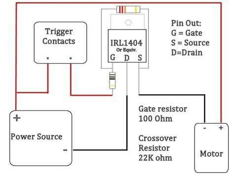 mosfet wiring diagram wiring diagram