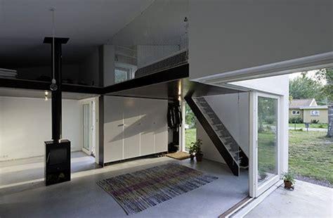 minimalist interior in small house dinell johansson