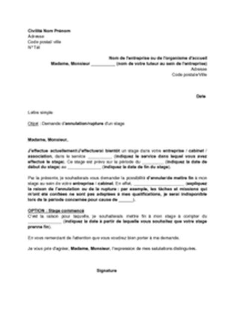 modèle lettre abandon formation exemple convocation formation