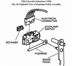 Brake Light Switch Replacement 1998 Chevy Truck