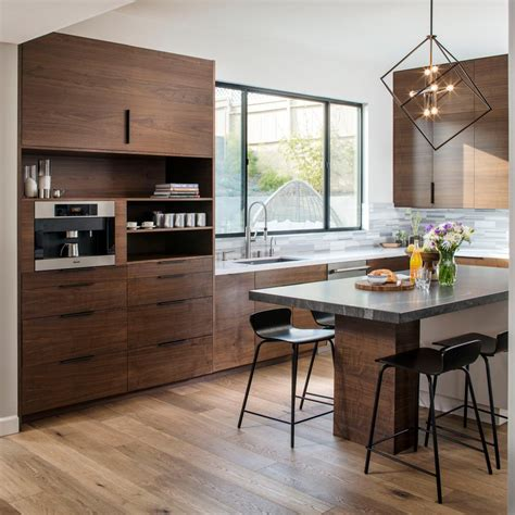 Modern Openconcept Kitchen Infused With Wood  Hgtv Faces