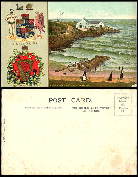 Ebay Boats For Sale Northern Ireland by Northern Ireland Postcard Bathing Place