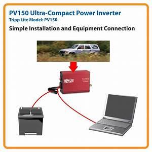 Amazon Com  Tripp Lite Pv150 Portable Auto Inverter 150w