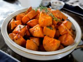 garlic thyme roasted sweet potatoes you might never eat a candied yam again recipe