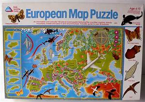 European Map Puzzle - Early Learning Centre (1994) - Retro ...