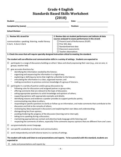 images   grade grammar worksheet identifying