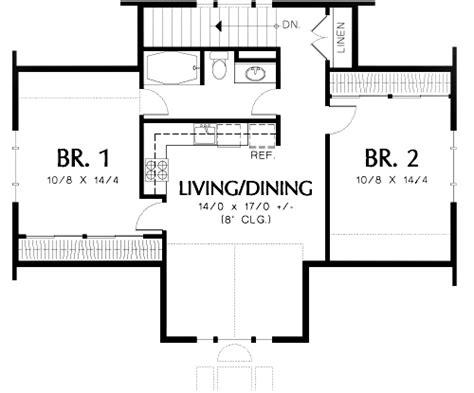 bedroom guest suite   car plan