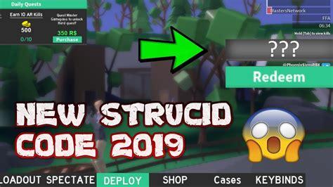 strucid working codes  strucidpromocodescom